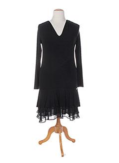Robe mi-longue noir ALAN RED pour femme