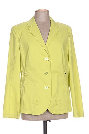 Veste casual jaune EUGEN KLEIN pour femme