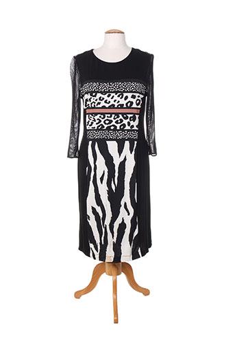 fuegolita robes femme de couleur noir