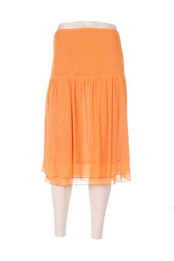 daniel amaury jupes femme de couleur orange