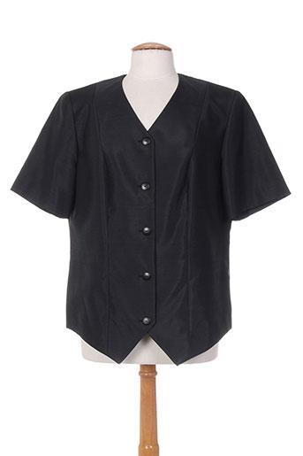 jean biolay vestes femme de couleur noir
