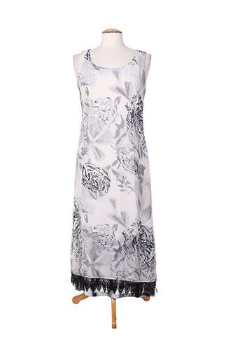 ishwar robes femme de couleur gris