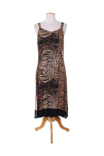 ishwar robes femme de couleur marron