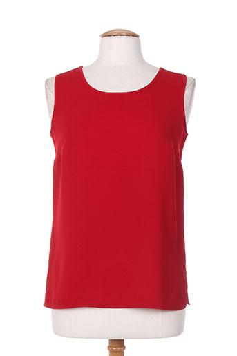 brigitte saget t-shirts femme de couleur rouge