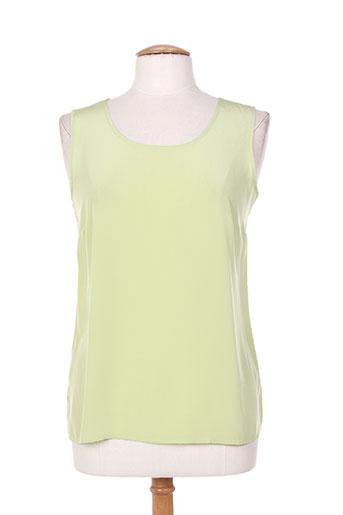 brigitte saget chemises femme de couleur vert