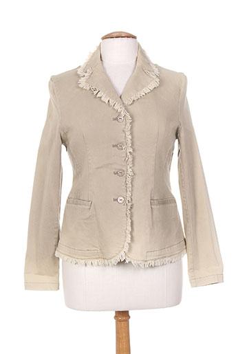 daniel amaury vestes femme de couleur beige