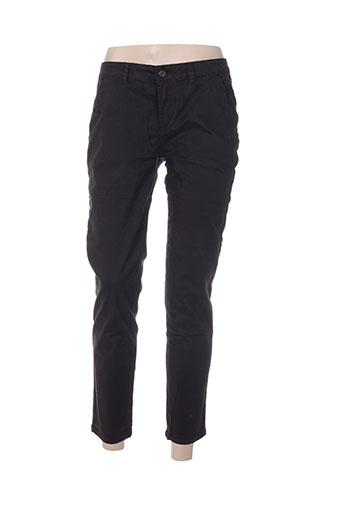 closette pantalons femme de couleur noir