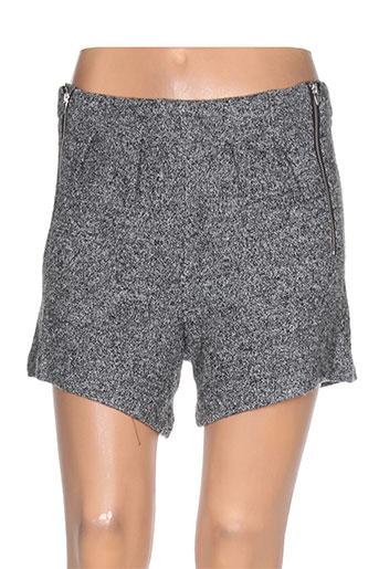 vila shorts / bermudas femme de couleur gris