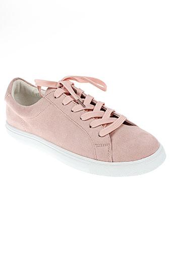 vanessa wu chaussures femme de couleur rose