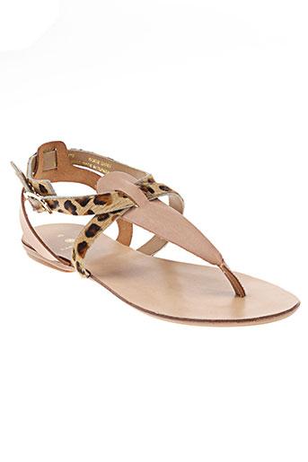 pieces chaussures femme de couleur beige
