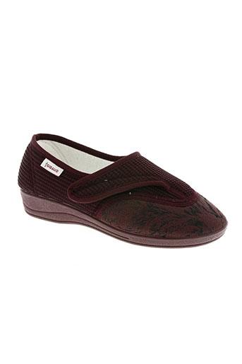 gibaud chaussures femme de couleur rouge