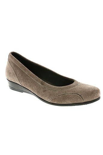 scholl chaussures femme de couleur marron
