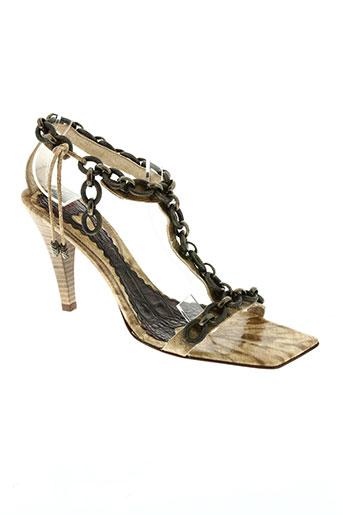mara chaussures femme de couleur beige