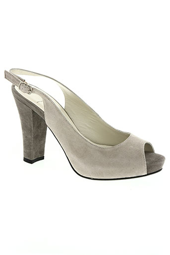 to be chaussures femme de couleur gris