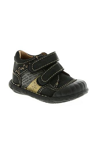 noël chaussures garçon de couleur noir