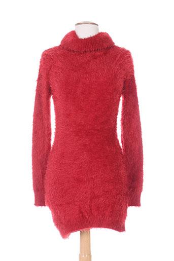 belle pulls femme de couleur rouge