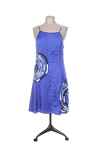 tricot chic robes femme de couleur bleu
