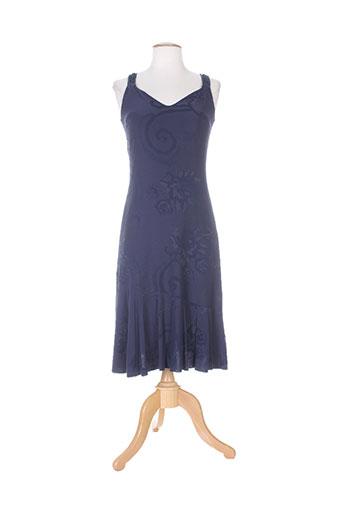 cappopera jeans robes femme de couleur bleu