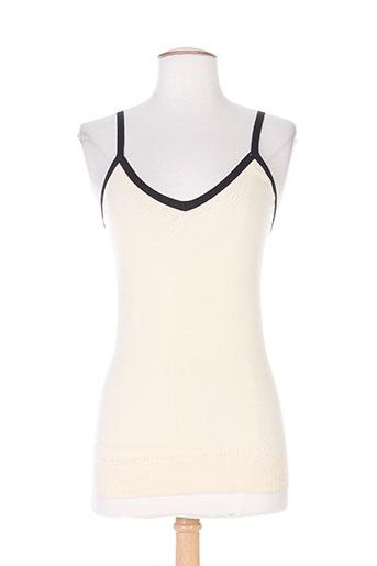 nathalie garcon chemises femme de couleur beige