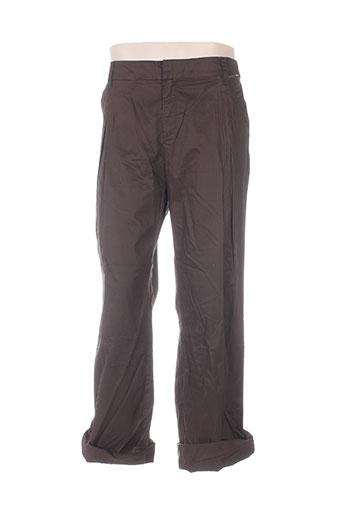 mexx pantalons homme de couleur marron