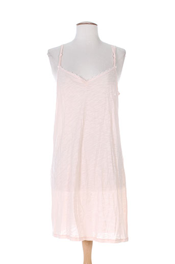 Jupon /Fond de robe rose CHERRY pour femme
