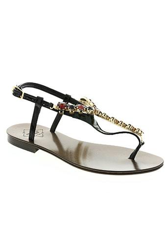 emanuela caruso chaussures femme de couleur noir