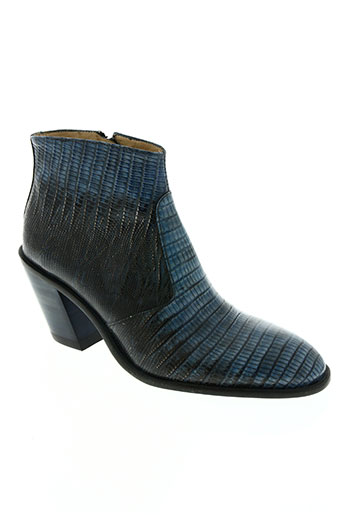 free lance chaussures femme de couleur bleu