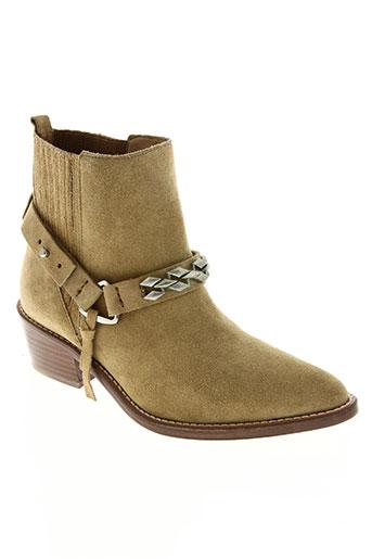 iro chaussures femme de couleur jaune