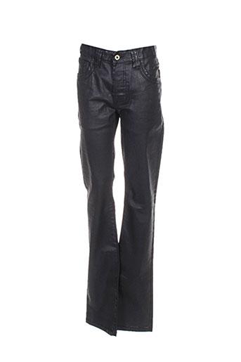 Jeans coupe droite noir CHEFDEVILLE pour femme