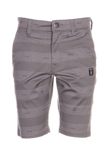 volcom shorts / bermudas garçon de couleur gris