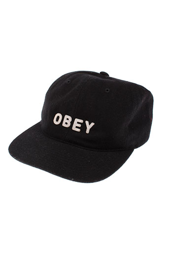obey accessoires homme de couleur noir