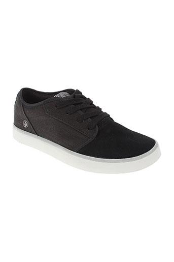 volcom chaussures garçon de couleur noir