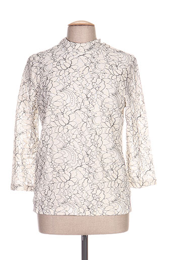 signature chemises femme de couleur blanc
