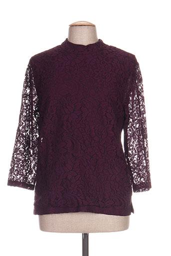 signature chemises femme de couleur violet