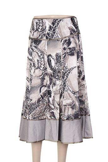 apanage jupes femme de couleur gris