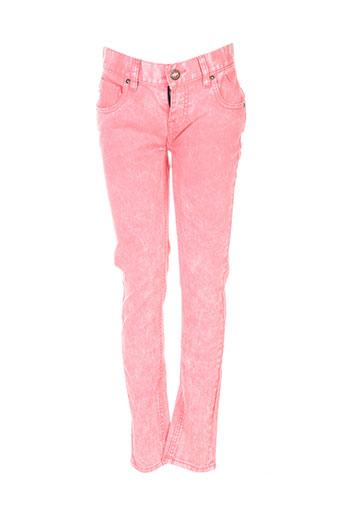 volcom jeans femme de couleur rose