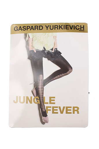 gaspard yurkievich lingerie femme de couleur noir