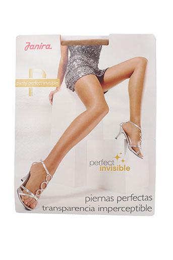 janira lingerie femme de couleur chair