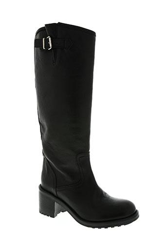 g.max chaussures femme de couleur noir