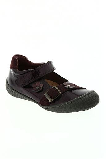 natik chaussures fille de couleur violet
