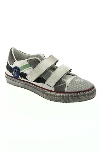 rondinella chaussures garçon de couleur gris