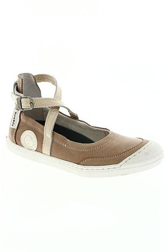 bana EFFI_CHAR_1 co chaussures fille de couleur beige
