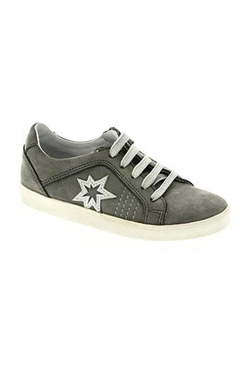 acebos chaussures garçon de couleur gris