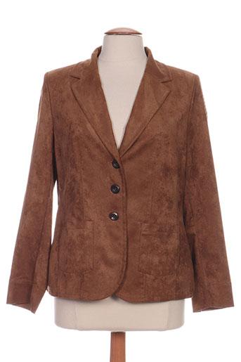sommermann vestes femme de couleur marron