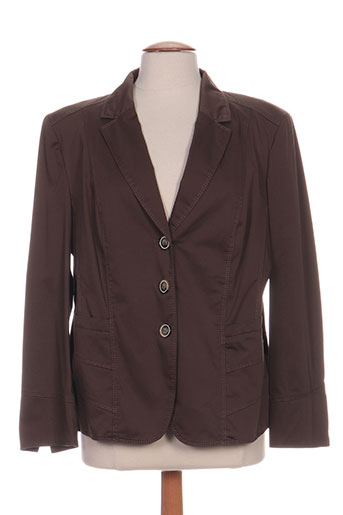 gerry weber vestes femme de couleur marron