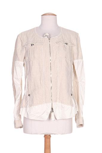 hich use vestes femme de couleur beige
