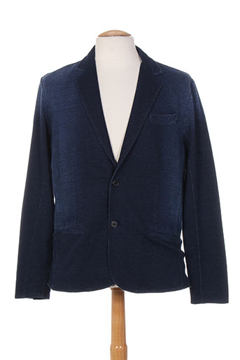 Veste casual bleu MONTE CARLO pour homme