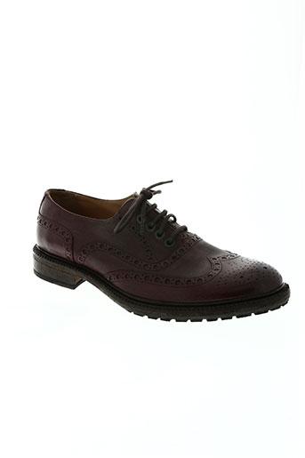 paradigma chaussures homme de couleur marron