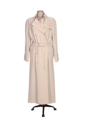 havrey manteaux femme de couleur chair