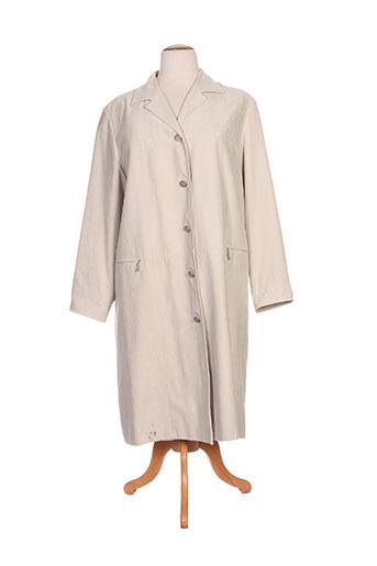 havrey manteaux femme de couleur beige